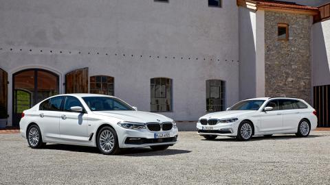 520d sedan lujo coche blanco