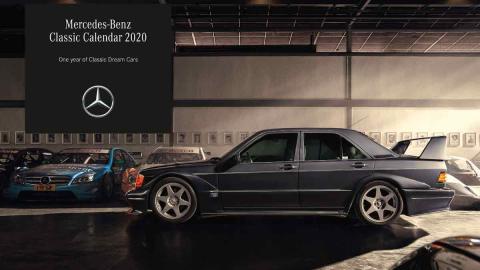 Calendario Mercedes 2020
