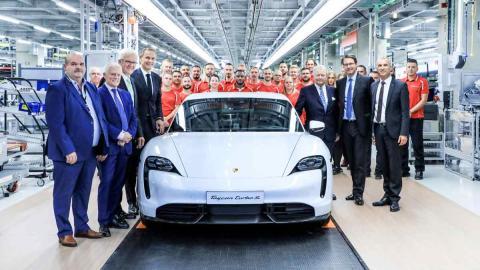 Fábrica Porsche Taycan