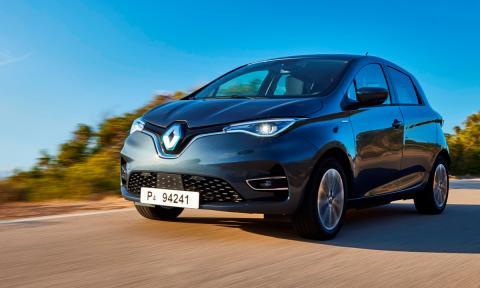Prueba del Renault Zoe TopGear