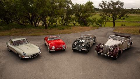 coches clasicos lujo deportivos subasta portugal