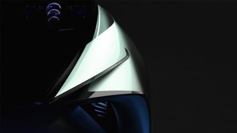 Coche eléctrico Lexus Teaser
