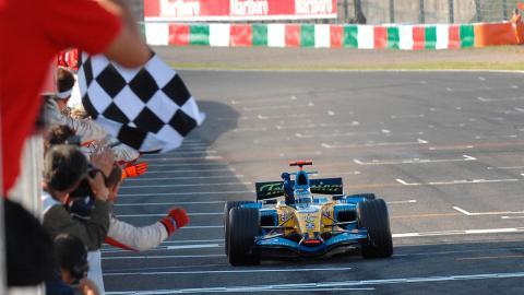 Fernando Alonso GP Japón 2006