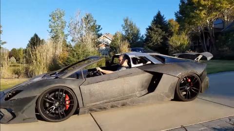 Lamborghini Aventador 3 impresora D