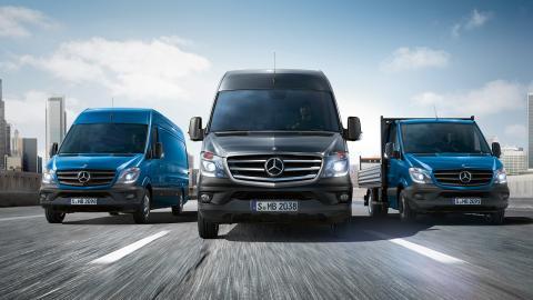 Mercedes Sprinter frontal