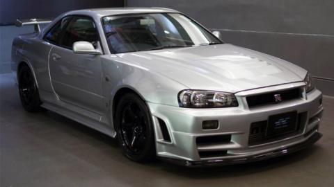 Nissan Skyline GT-R R34 Z-Tune frontal
