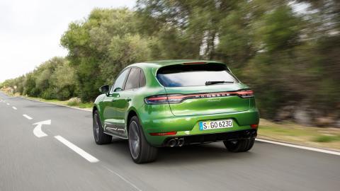 Porsche Macan Mamba Verde