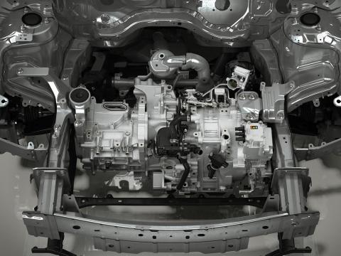 Prueba prototipo Mazda eléctrico CX-30