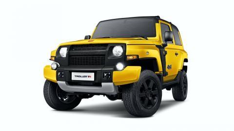 todoterreno barato brasil compacto amarillo 4x4 off-road