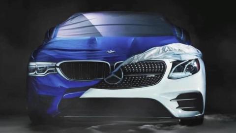 BMW trolea Mercedes Halloween