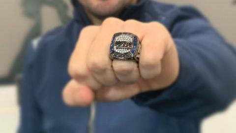 Fernando Alonso y el anillo de Daytona