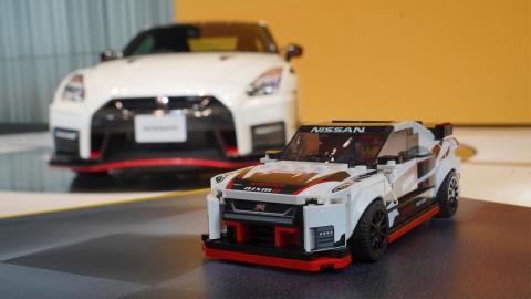 Nissan GT-R Lego