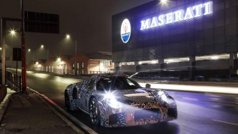 Nuevo deportivo Maserati