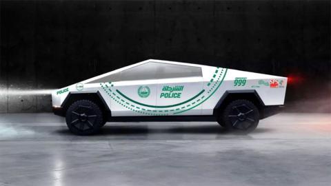 Tesla Cybertruck Dubái