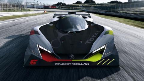 Hiperdeportivo Peugeot Le Mans concept