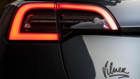 Interior personalizado del Tesla Model 3