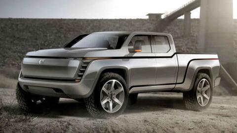 pick-up electrico coches electricos futuro 2020