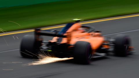 McLaren F1 Australia 2018