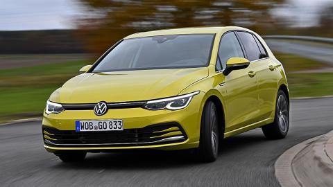 Prueba del Volkswagen Golf 8