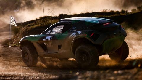 Rally coches eléctricos Extreme E