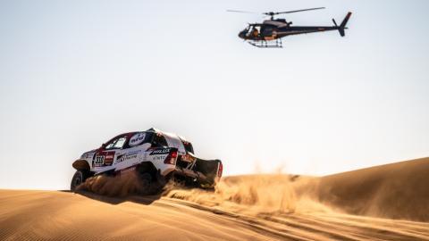 Alonso en el Dakar 2020