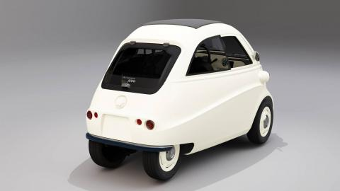 coche utilitario urbano ciudad electrico clasico retro