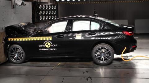 BMW Serie 3 crash test