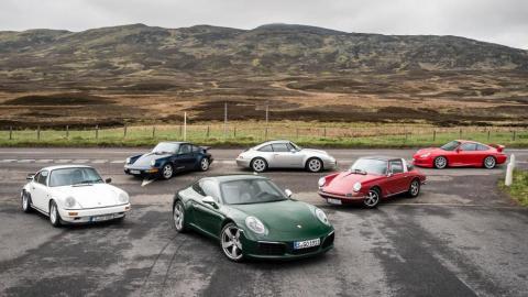 Cambios de Porsche