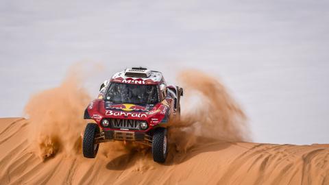 Carlos Sainz en el Dakar 2020