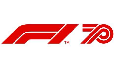 Logo F1 2020 70 años