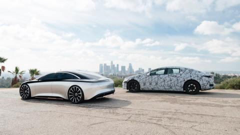 Mercedes EQS producción y concept