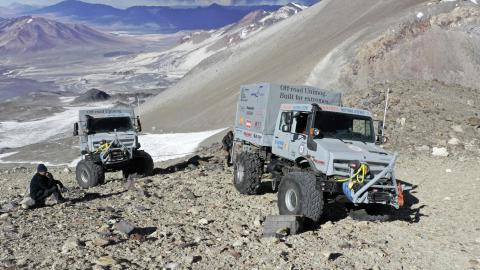record altitud altura off-road extremo lujo