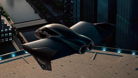 Porsche volador Boeing