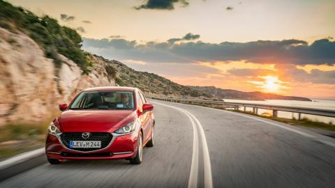 Prueba Mazda 2 2020