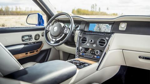Rolls Royce Cullinan interior