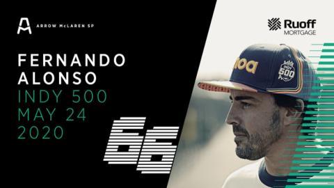 Alonso y McLaren en la Indy 2020