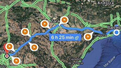 google aplicacion coche radar movil fijo