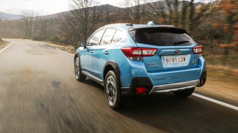 Prueba del Subaru XV EcoHybrid