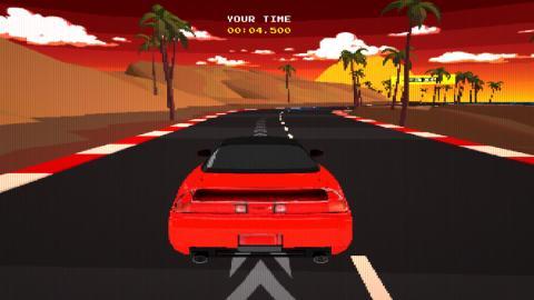 Videojuego retro de Honda
