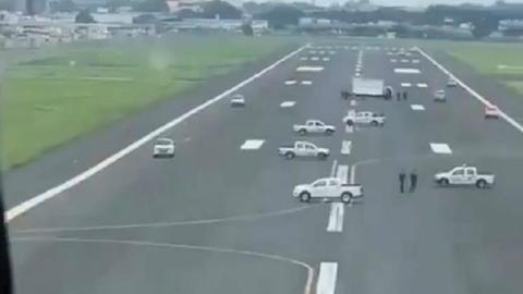 avion aterrizar Ecuador