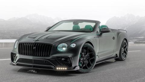 Bentley Continental GT Cabriolet V8 Mansory