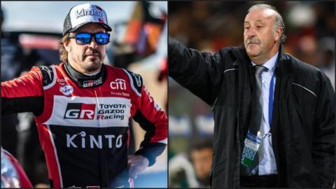 Del Bosque y Alonso