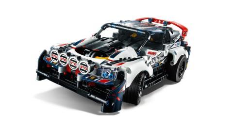 coche de Lego de rally de TopGear