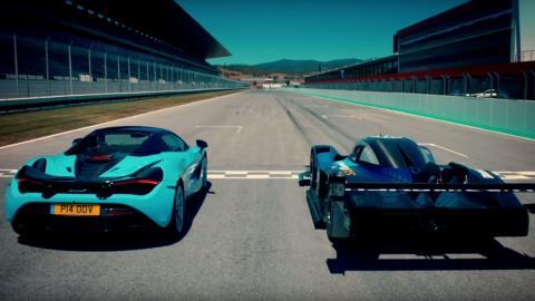carrera aceleracion circuito coche electrico competicion