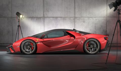 prototipo diseño concepto hiperdeportivo italia