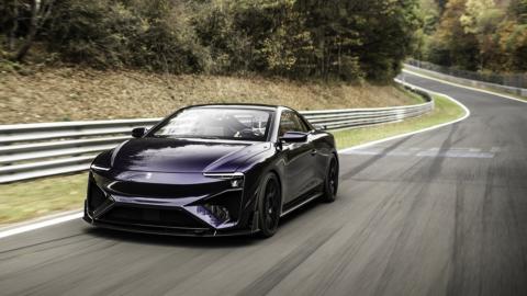 deportivo electrico altas prestaciones lujo pila combustible metanol
