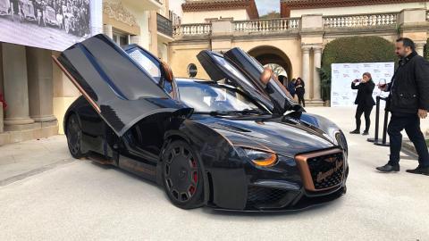 deportivo electrico lujo altas prestaciones exclusivo