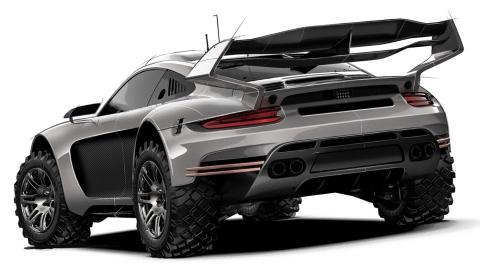 Porsche 911 by Gemballa