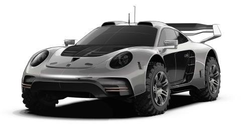 Porsche 911 Gemballa offroad