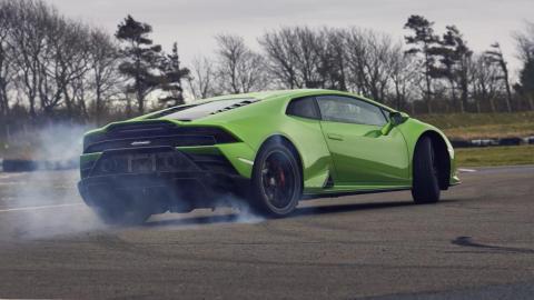 Prueba Lamborghini Huracán RWD